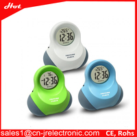Lowest Price High Quality touch activate LED Alarm Digital Desk Clock time and temperature readout clock