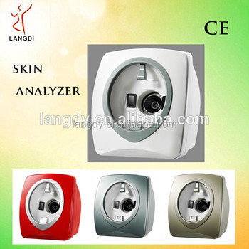 Original!!! Facial Magic Mirror Skin Analyzer With Recommendation And Compare Function