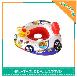 Wholesale Car Shape Float Cheap Funny Inflatable Baby Boat