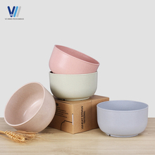 Promotional Items Wheat Straw Unique Restaurant Cheap Plastic Soup Bowl