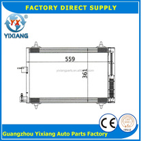 Air Conditioner Automotive Cooled Condenser For CITROEN