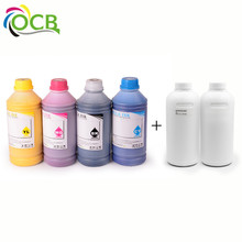 Ocbestjet Textile Inkjet Reactive Printing Ink For Epson Stylus Photo 1290 4800 4880 R2400 L100 L200 T60 Printer