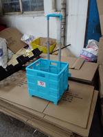 7 foldable portable folding shopping travel luggage cart