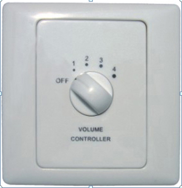 Emergency public addressing signal controller fire switch volume controller