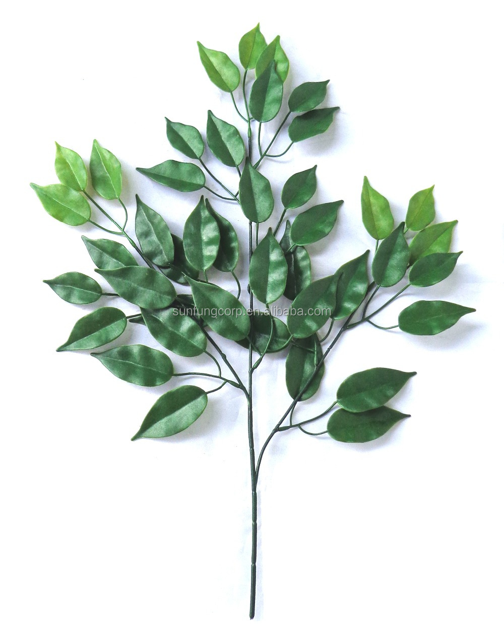 Wholesale Real quality UV Resistant artificial evergreen branch