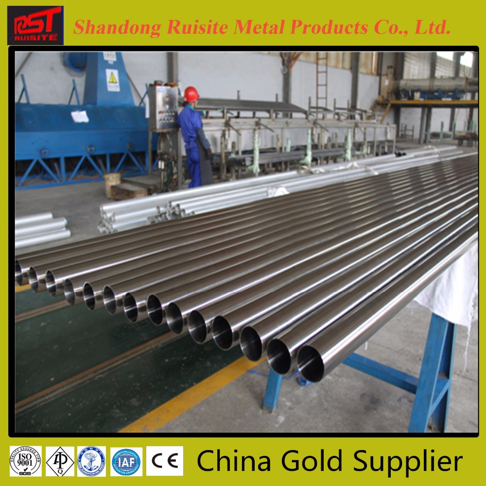 Gold supplier Firm 316l Stainless Steel Sss Tube, Astm Seamless oil Pipe