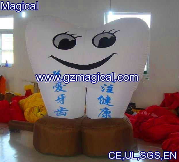 Inflatable Model/advertising tooth