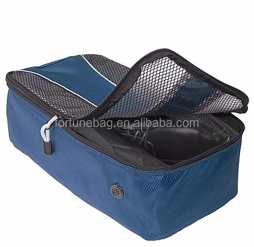 Durable TechLite Diamond Nylon Travel Shoe Bag Fashionable With Good Quality