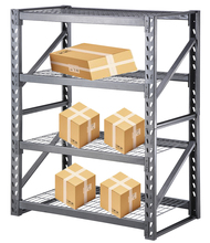 Hot Sale Adjustable Heavy Duty Angle Warehouse Storage Rack Boltless Rivet Iron <strong>Shelf</strong>