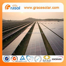 Cheap solar panels china module mounting system fremeless solar panel system