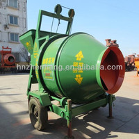 China top machine climbing bucket feeding concrete mixer JZCP350 mortar mixer