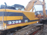 cheap japanese crawler excavator 320B for sale / used excavator