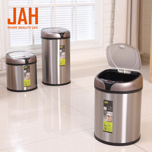 Kitchen touchless metal scrap waste bins for sale