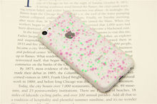 For Apple iPhone 5C 2014 Snowflake Noctilucent Hard Back Case Cover