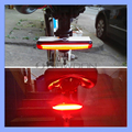 OEM Red White Light USB 500mAh 3.6V Rechargeable COB LED Bike Tail Light