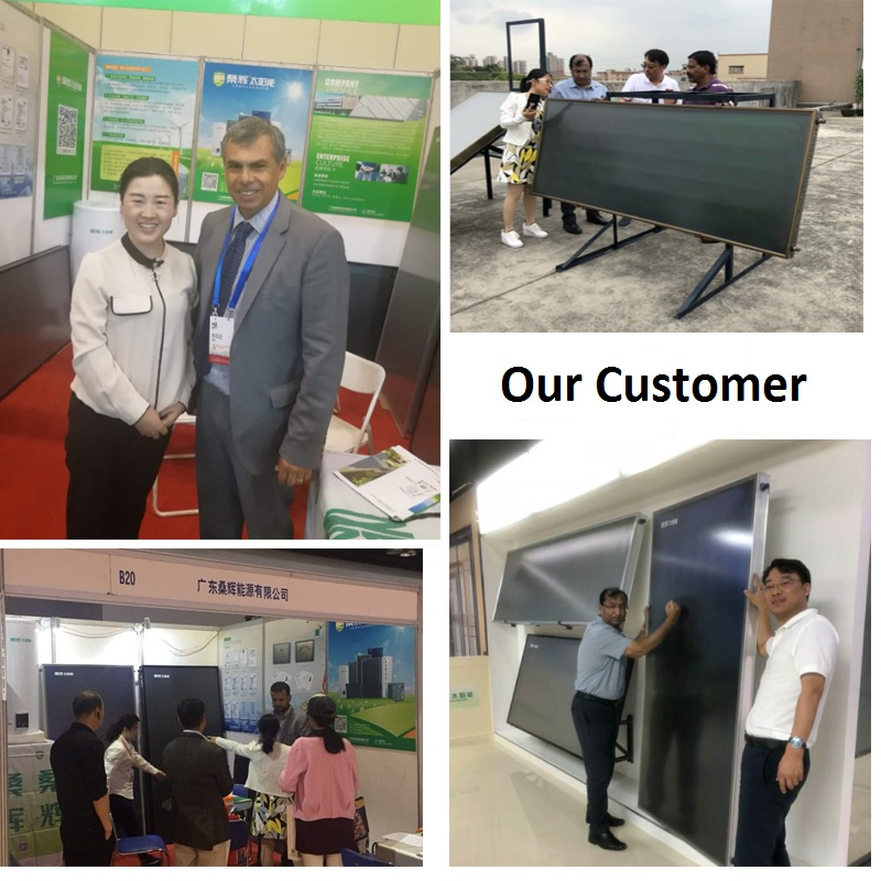 SHw-BK 100L Solar horse water heater  wholesales china direct price solar panels low power environmental protection house use