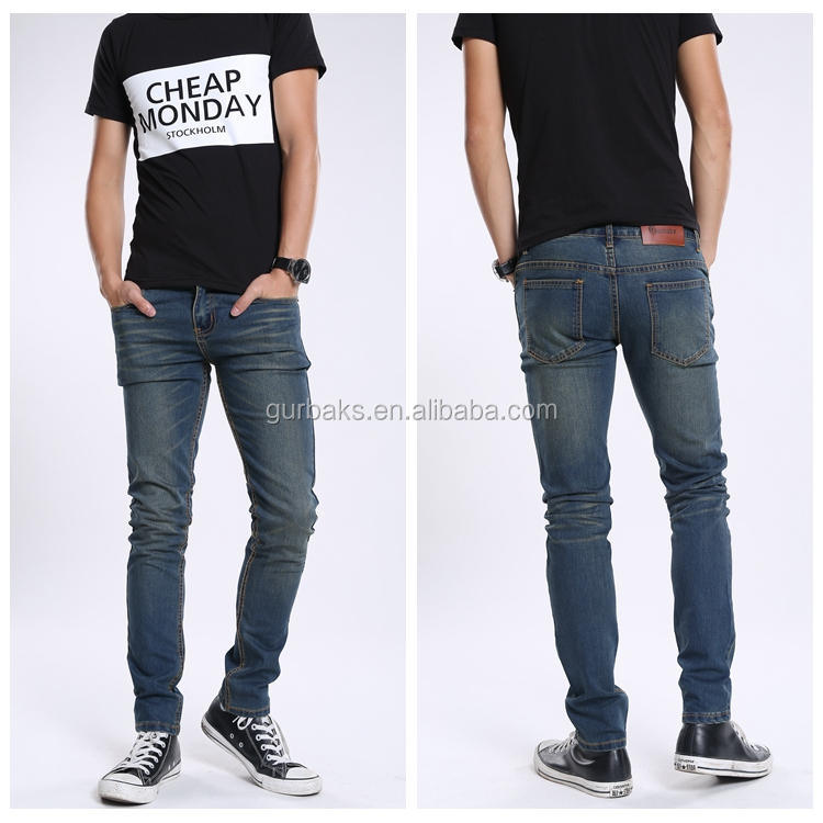 2017 Trending Products mens painted jeans