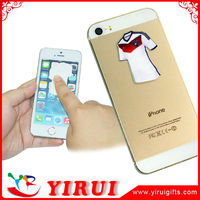 custom fashion stick mobile phone screen silicone wiper cleaners