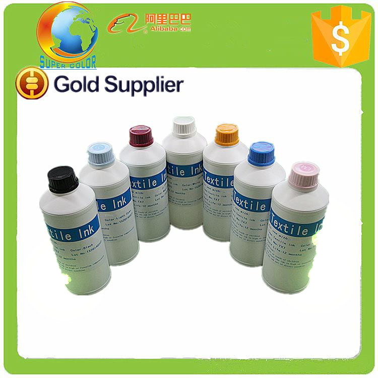 Suit for DX5 print head printing textile ink for Epson 4800 wholesales waterbased textile ink