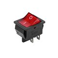 2017 New waterproof 4pin red light rocker switch