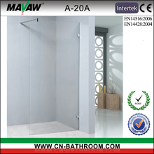 Europe walk-in tempered glass shower screens A-20A