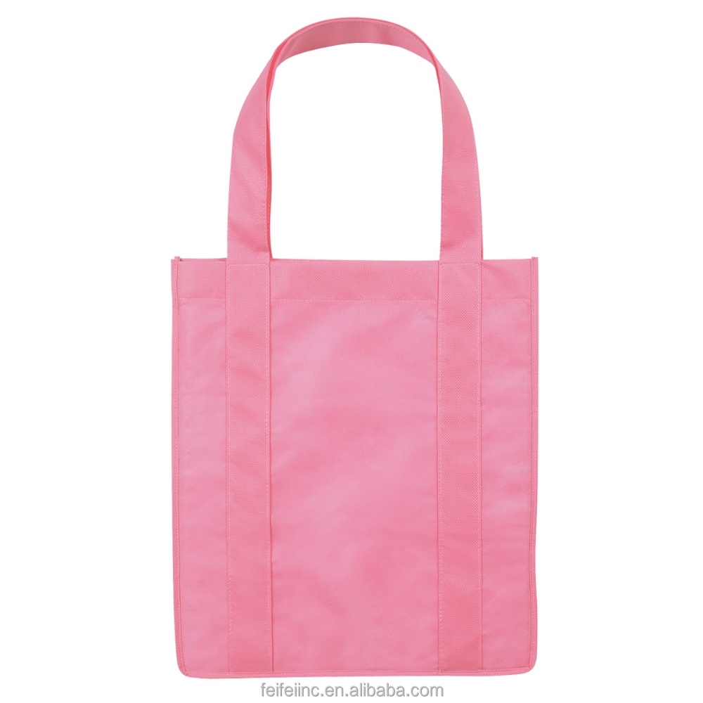 OEM production Blank laminated tote shopping bag