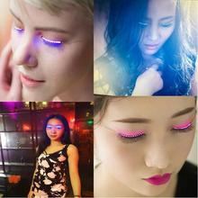 2017 waterproof 3D color changing LED eyelash