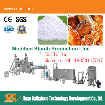 Professional Oil Drilling Modified Starch Machine/Modified starch making machine