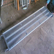 Scaffolding Quality Walk Board Hook Safety Metal Catwalk Galvanized Perforated High Security Scaffold Steel Plank