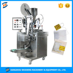 WS DXDCH-10A Automatic Fragmental Tea Sachet Packing Machine with Tag and Thread