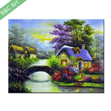 BCL17-00067 Home Goods Canvas Prints Forest Landscape Painting