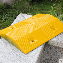 JSD-02a Recyclable Rubber Speed Hump Rubber Road Bump
