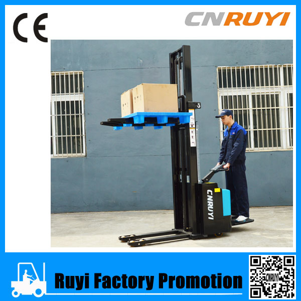 Top but cheapest small type electric forklift pallet truck-electric stacker