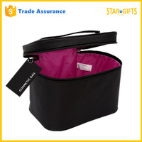 Wholesale 2016 Factory Price High Quality Black Beauty Cosmetic Case