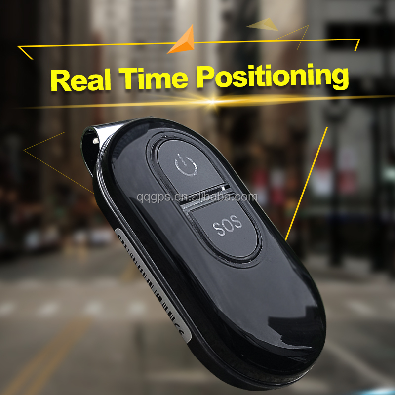 Small Waterproof Geo-Fence SOS Panic Button Real Time Tracking Personal Gps Tracker Chips