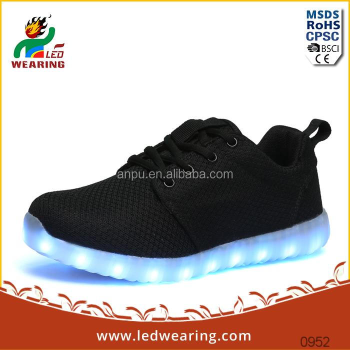 men`s chaussure led land roller skate