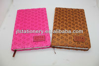 Fabric Notebook and agenda with embossed