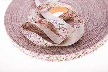 Cotton Woven Printed Ribbon