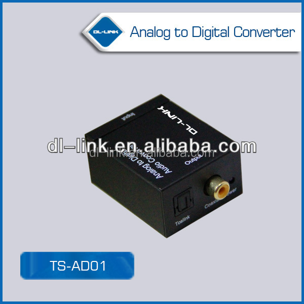New Arrival!!Analog to Digital Optical Coaxial Audio Converter Adapter with 3.5mm & RCA Inputs