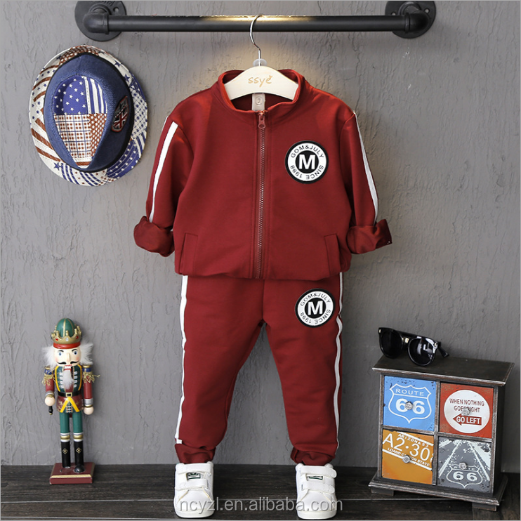 Good quality teen boys clothing 2016 New product China wholesale young boys clothing