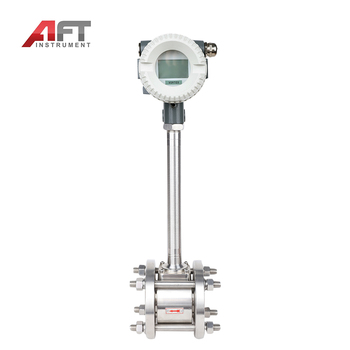Compensation type nitrogen gas vortex flow meter