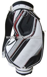 "Personalized Custom Cart Golf Bag China Manufactuer 9.5"" PU/Crystal Leather Golf Bag with Rainhood"
