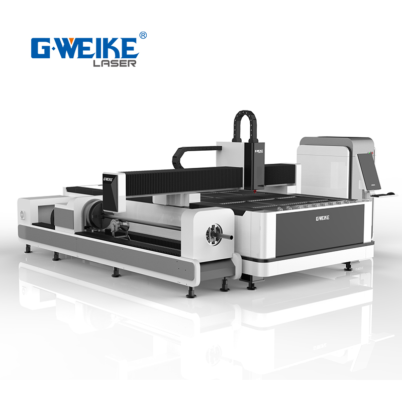CNC Fiber 1000w 2000w Sheet Metal Laser Cutting Machine for tube and plate