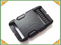 double adjuster plastic quick release buckles for clothing