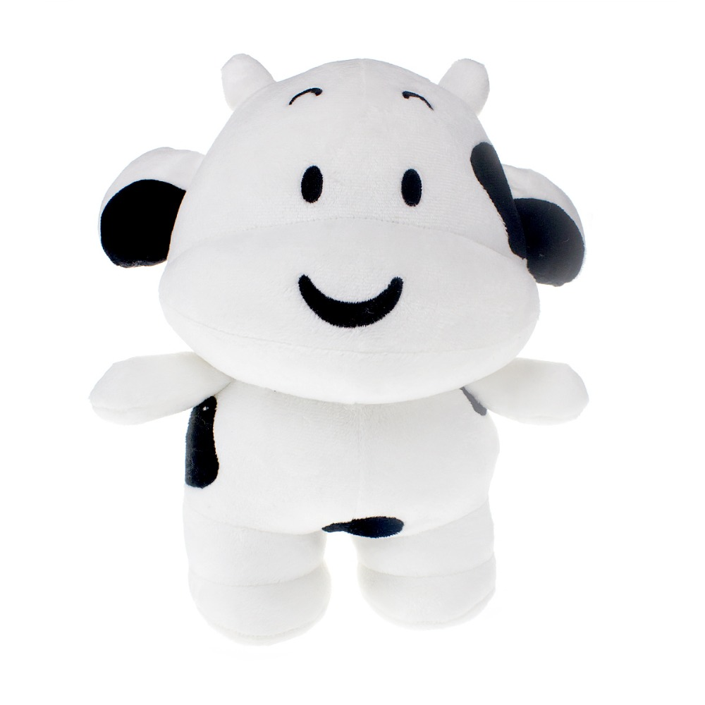 Factory customized lovely new design cow stuffed animal plush