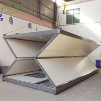 20ft 40ft ready made prefabricated folding container house