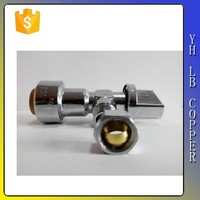 1/2-Inch FIP by 3/8-Inch COMP by 1/4-Inch COMP 118 Quarter Turn 3-Way Valve