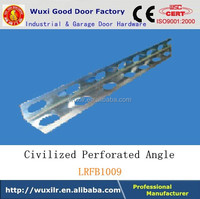 Factory Selling Garage Door Hardware Track Perforated Angle Galvanized Customized Bracket