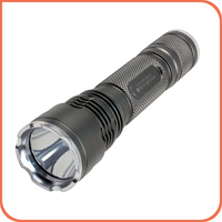 Dimmable led lighting 18650 lithium battery IPX-8 waterproof torch light for bicycling or emergence