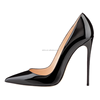 AL-053 New arrival ladies office 12cm pump shoes wholesale stiletto high heel court shoes women dress shoes 2018